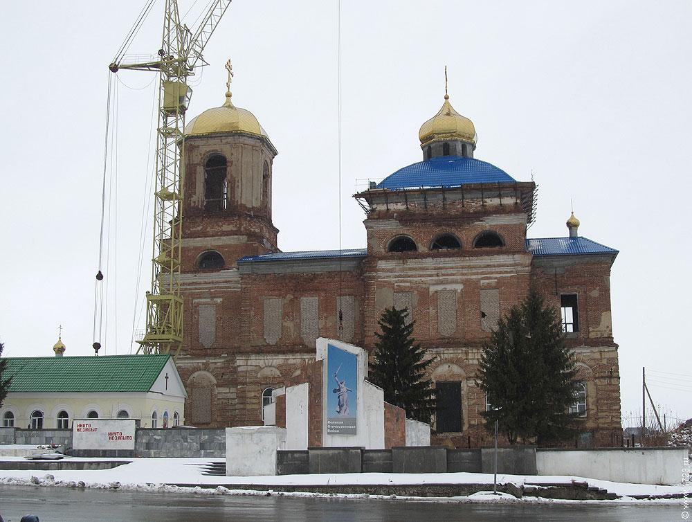 город артёмовский село шогринское церковь святого николая